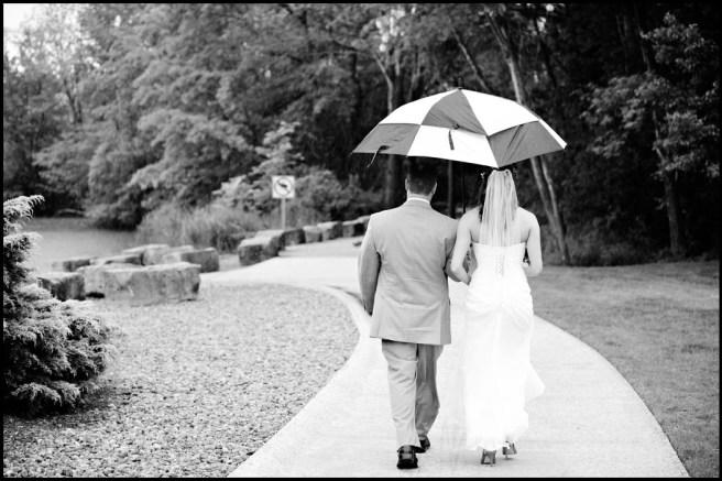 rain on wedding day