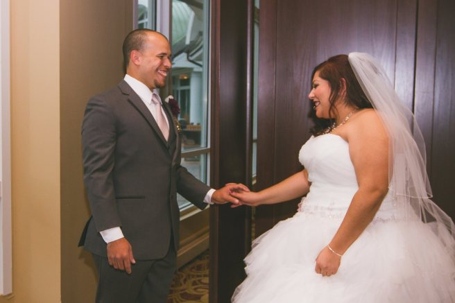 Wedding Planners Love When The Bride & Groom Share a First Look Before Their Wedding Ceremony