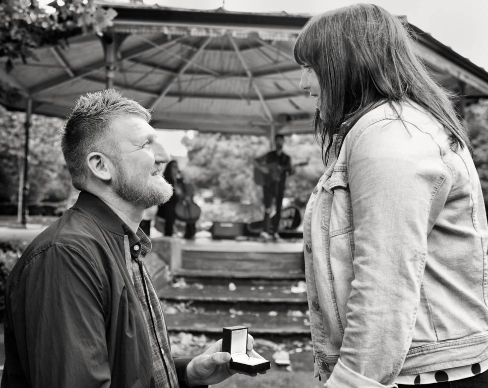 Marriage Proposal Music - Barry Hughes Wedding Singer Éire