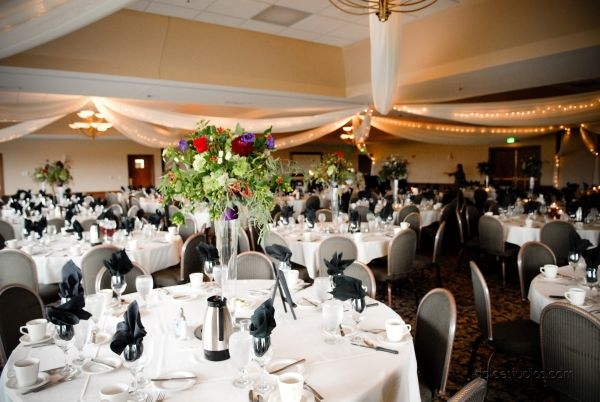 Wedding ballroom at Lakeville Weddings