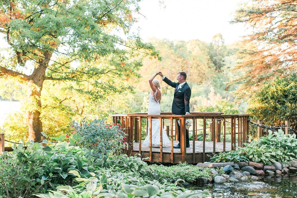 Uncovered Gazebo at Lakeville Weddings