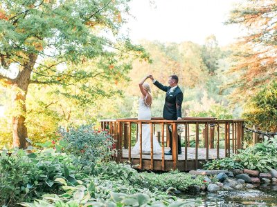 Uncovered Gazebo at Lakeville Weddings
