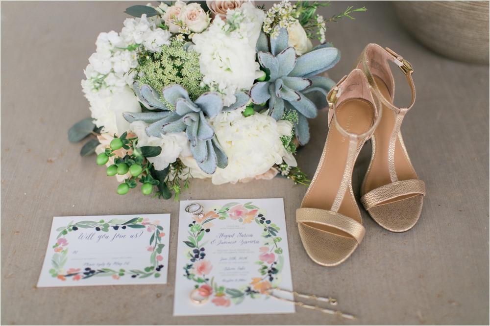 Dayspring Design Succulent Bridal Bouquet