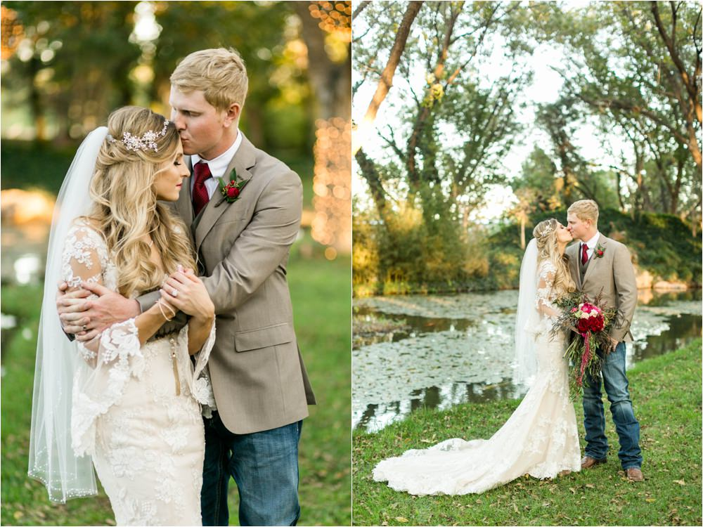 romantic wedding at fulford barn