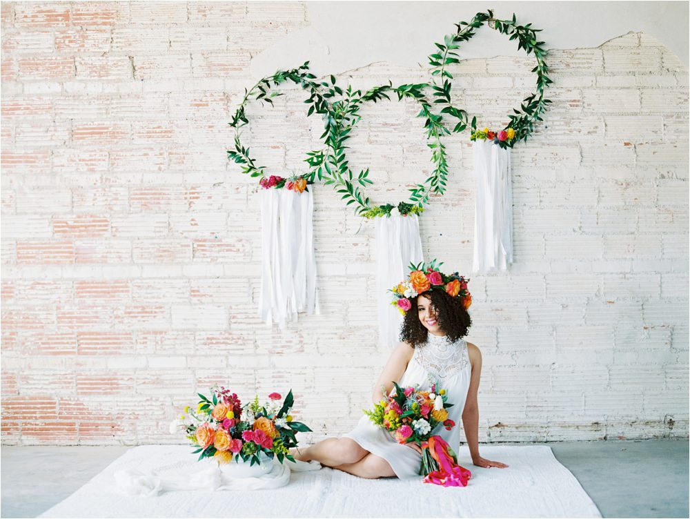 whimsical floral design for weddings of west texas by poppies and peonies