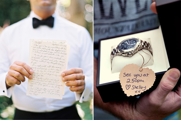 10 Romantic Wedding Morning Gift Ideas For Grooms