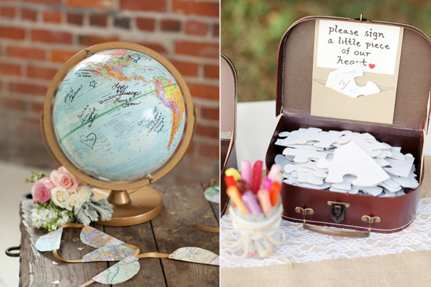 15 Creative Wedding Guest Book Ideas