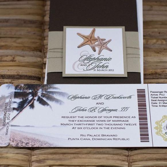 Stylish Save The Dates Destination Wedding Invitations Ideas