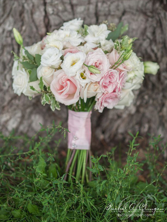 Blush Pink Bouquet _Rachel A. Clingen Wedding Design and Decor