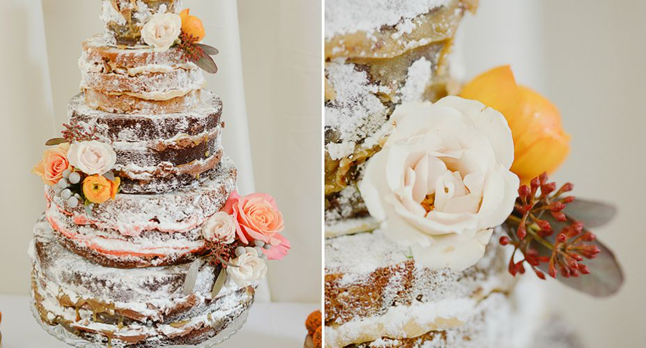 Top Wedding Cake - Rustic Cakes
