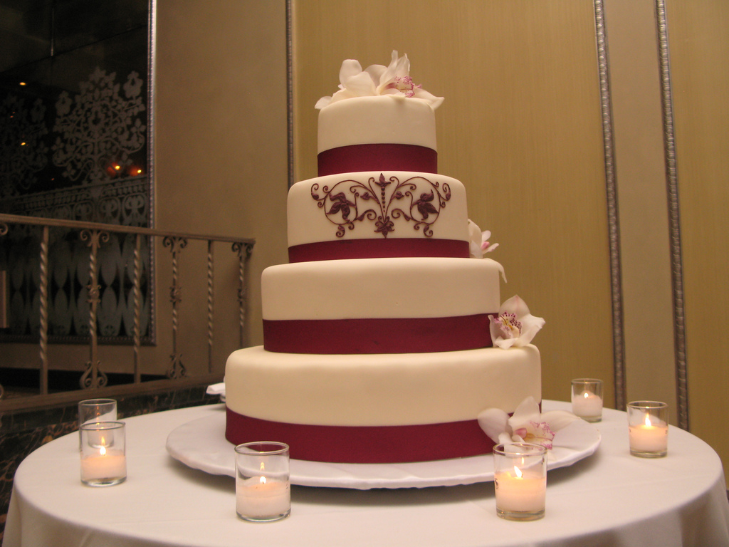 Top Wedding Cake - Tall Wedding Cakes