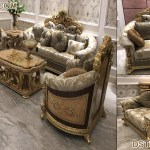 Italian 6 Seater Solid Teak Wood Sofa Set Wedding Stages