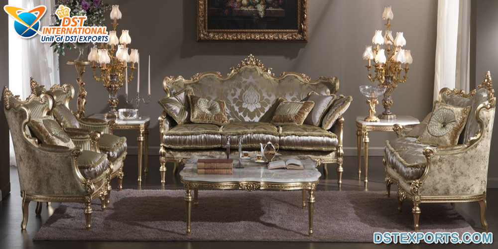 Luxury French Style Drawing Room Furniture Wedding Stages