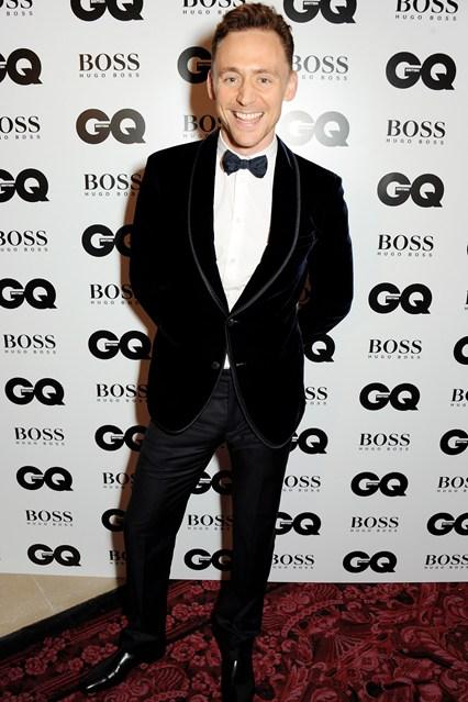 GQ Tom Hiddleston in Giorgio Armani