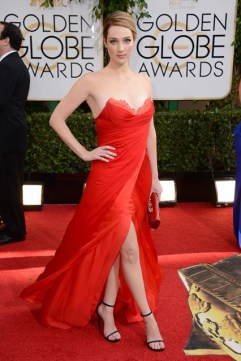 Kristen Connolly wore a Lorena Sarbu