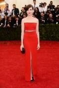 Anne Hathaway in Calvin Klein