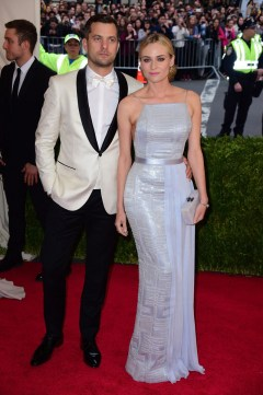 Diane Kruger in Hugo Boss with Joshua Jackson