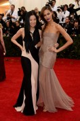 Joan Smalls in Vera Wang with Vera Wang