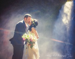 Brianna's gorgeous capture in the waterfall mist!