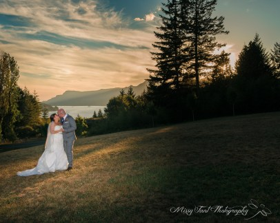 Columbia Gorge Wedding with Vancouver Washington wedding photographer Missy Fant