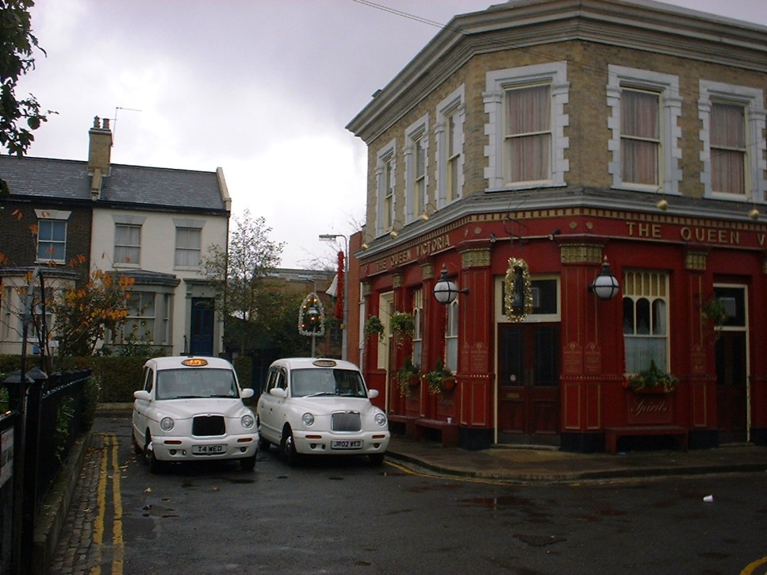 Wedding Taxis, Albert Square, EastEnders Christmas Day Special 2002