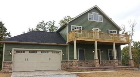 New custom house with custom deck