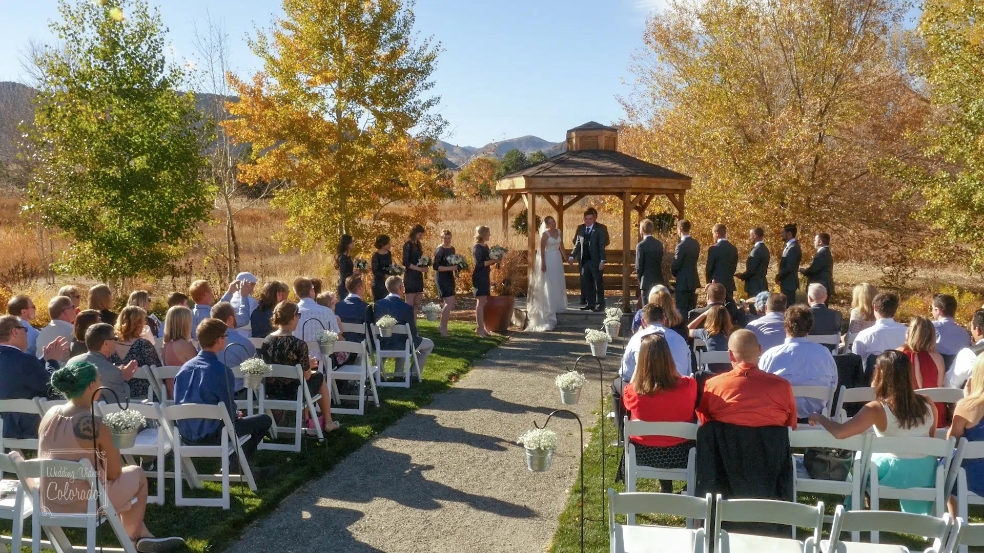 Tim & Ali Wedding Chatfield Botanical Garden