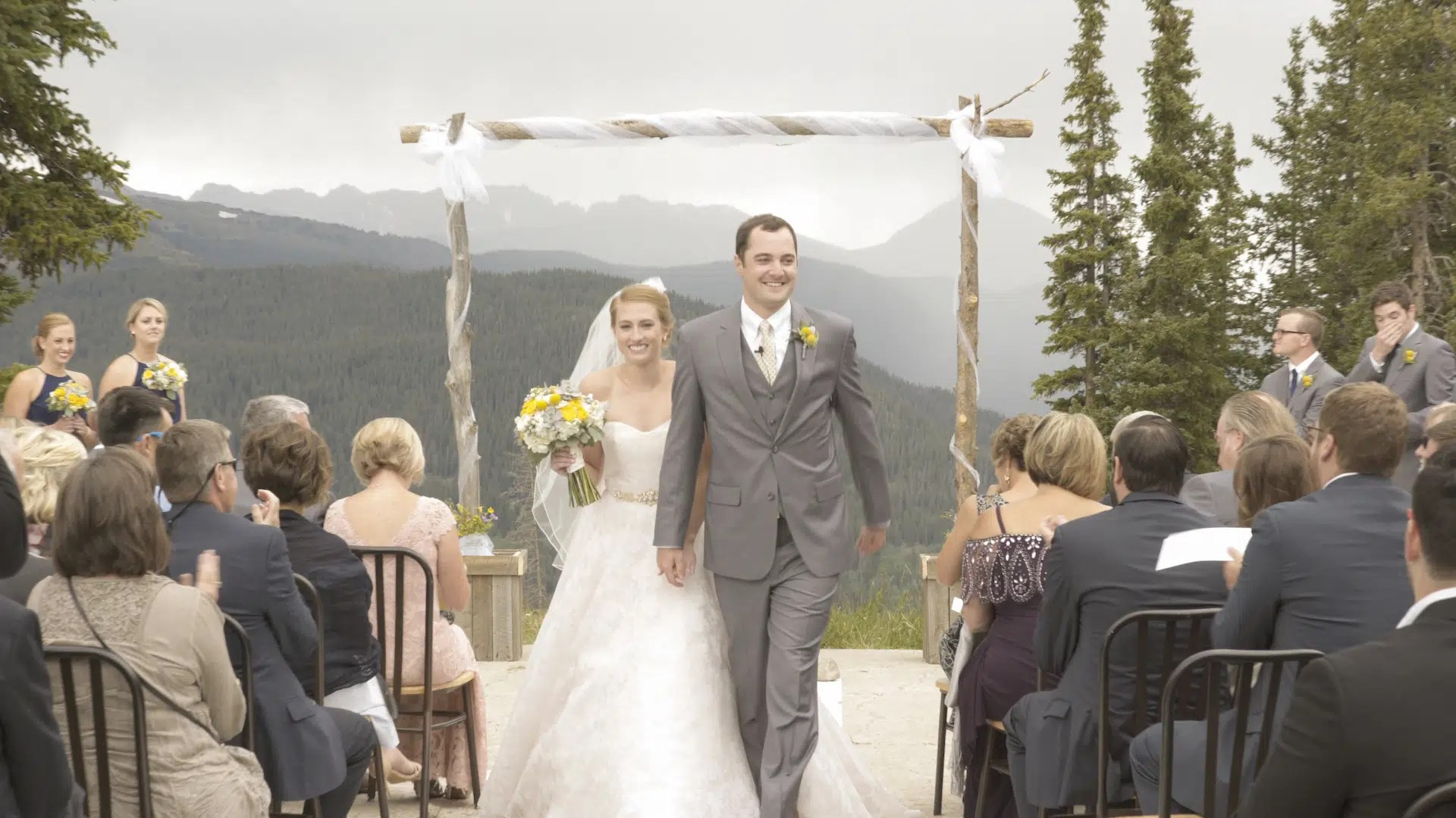 Sarah Jesse Copper Mountain Wedding Stills NOMARK