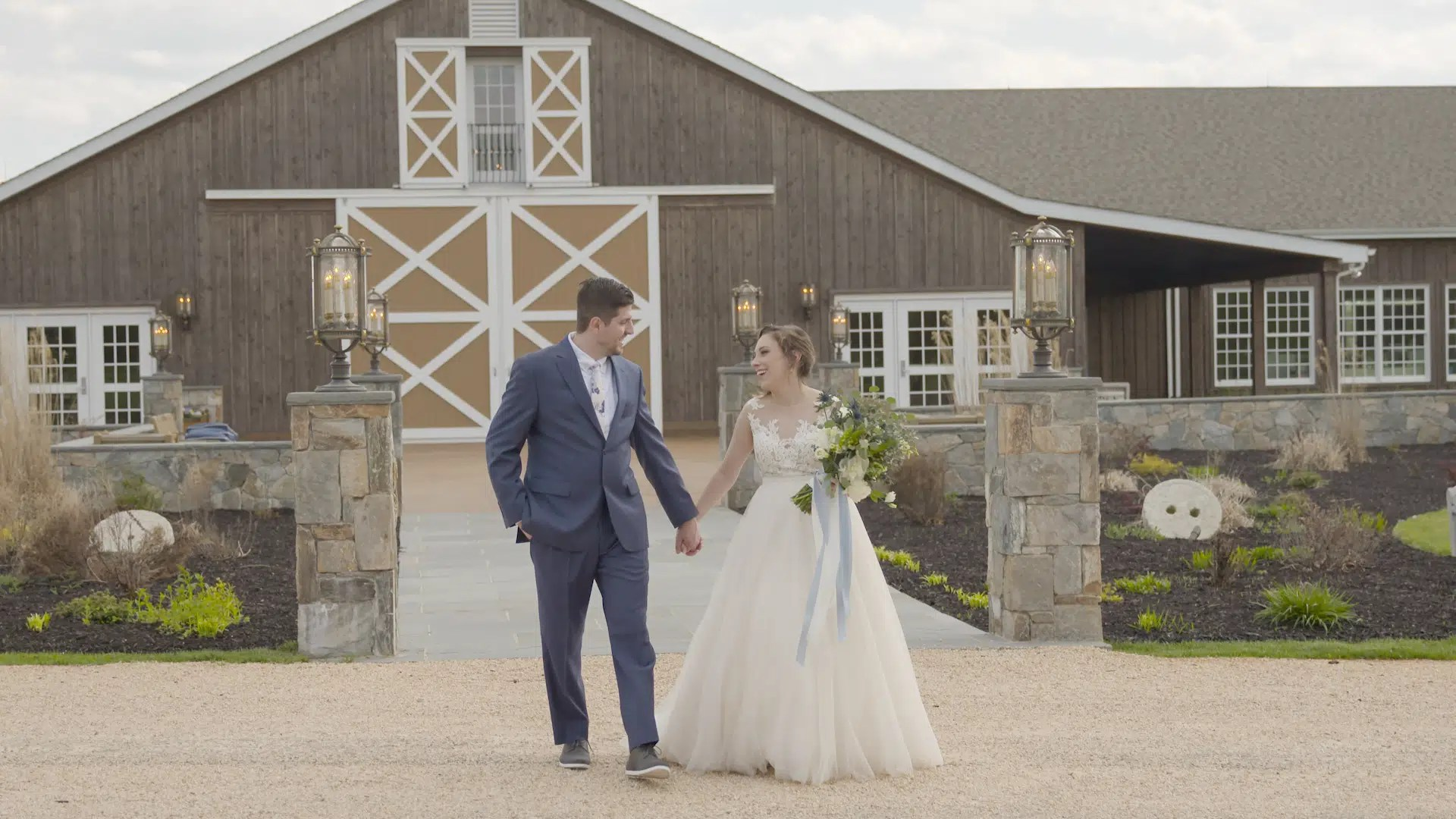 Tony & Steph Wedding Highlights Video at The Lodge, Virginia