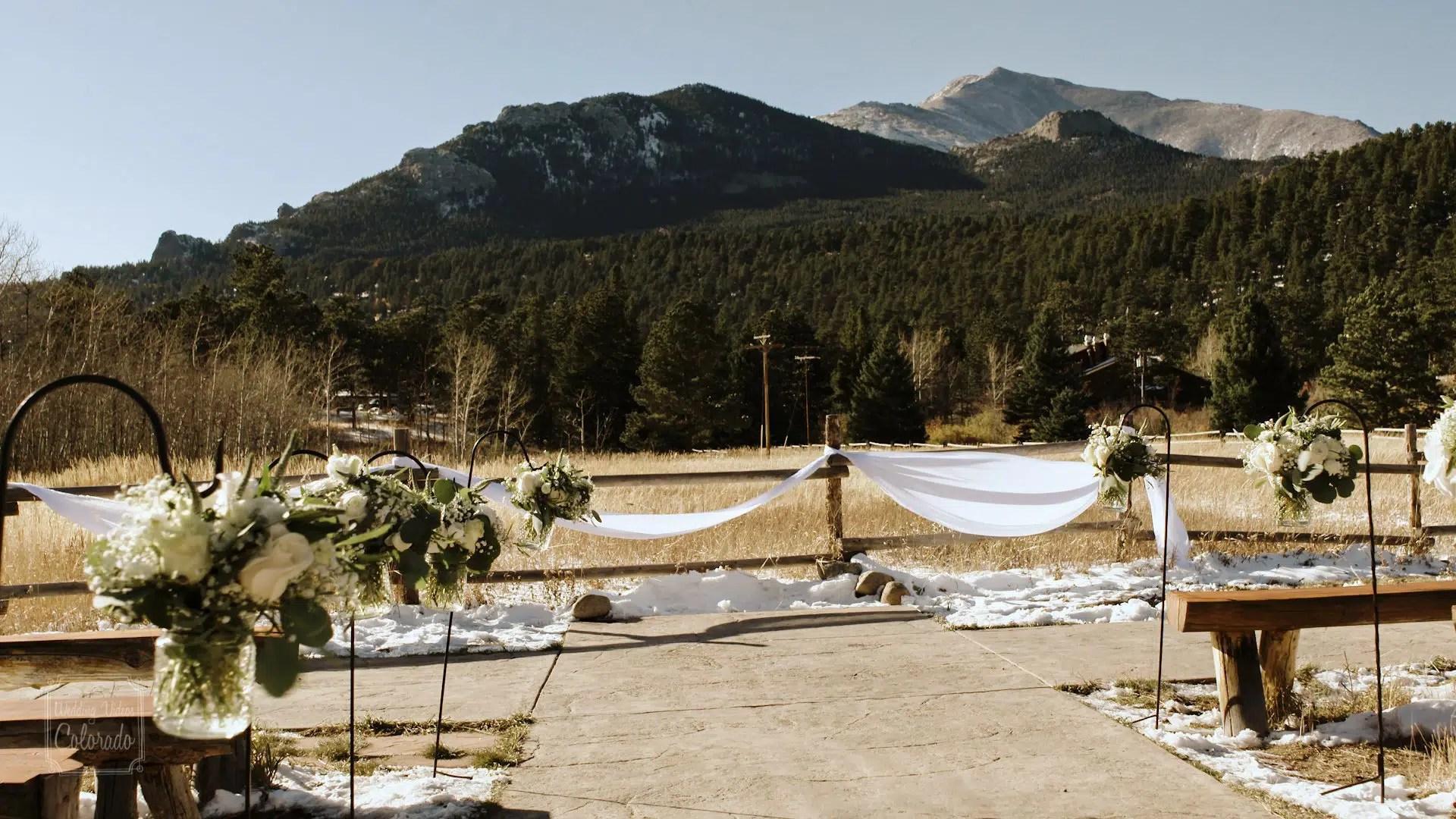 Dane Sara Wild Basin Lodge Wedding Video
