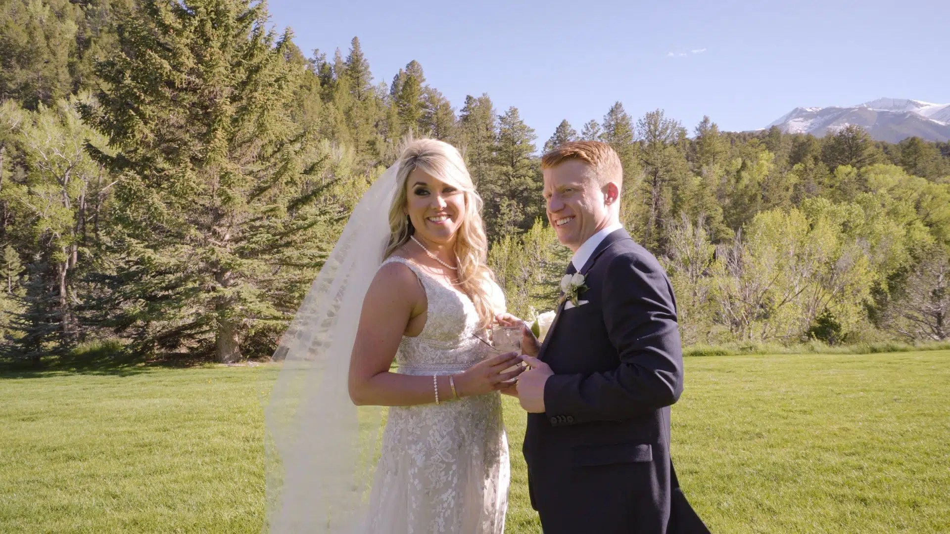 Cameron & Gennavieve's Wedding at Mt Princeton Hot Springs Resort