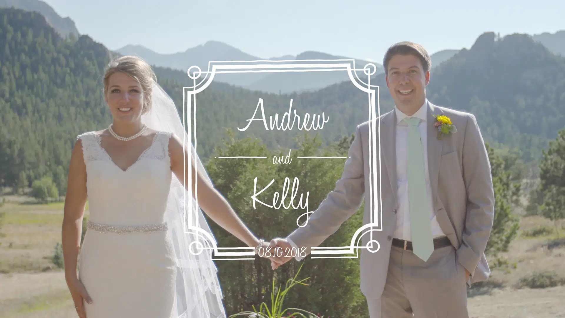 Andrew & Kelly Wedding Highlights Video in Estes Park, CO