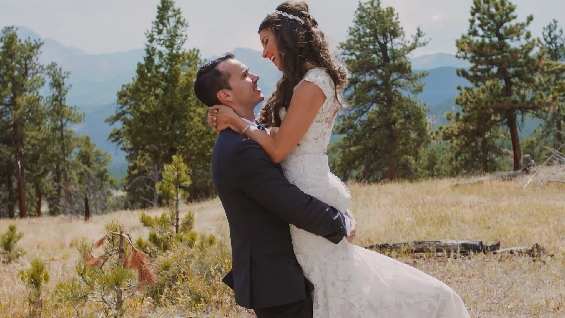 della terra mountain wedding video