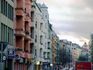Die namensgebende Brüsseler Straße