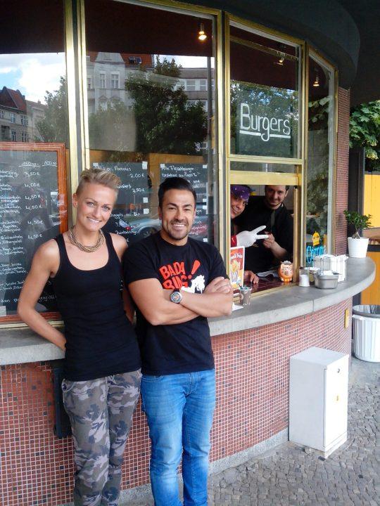 Tolga Büyükuzun und Jarmila Arnold