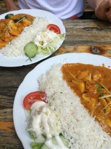 Tamilisches Essen (Foto: L.Tilly)