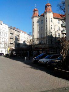 Das Karl-Schrader-Haus an der Ecke Malplaquet-/Liebenwalder Straße