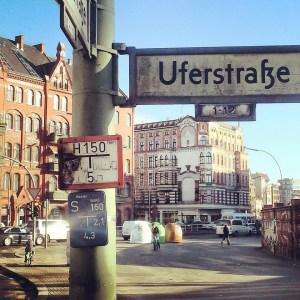 Fünferkreuzung an der Badstraße