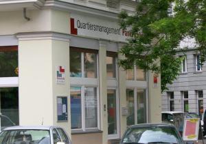 Das Büros das QMs Pankstraße: auch hier wird bald gewählt.