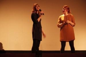 Kinobetreiberinnen Anne Lakeberg und Wiebke Wolter