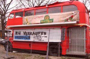 Londonbus zu verkaufen