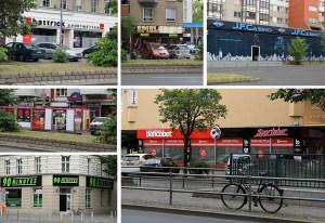 Casinos und Wettbüros auf 100 Meter Brunnenstraße.