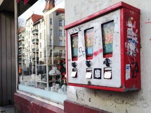 Malplaquetstraße 25 Kaugummiautomat