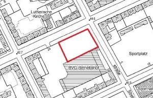 Grundriss Wattstraße - Planungsunterlage der degewo