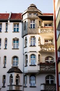 Ein Hof in der Hussitenstraße 4/5. Foto: Sulamith Sallmann