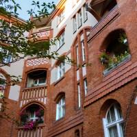 Sozialer Wohnungsbau um 1900 in der Hussitenstraße