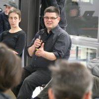 Ex-Staatssekretär Andrej Holm im ExRotaprint