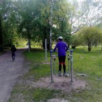 Kostenlose Fitnesskurse unter freiem Himmel