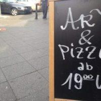 """Ein Abend mit """"ART & PIZZA"""""""