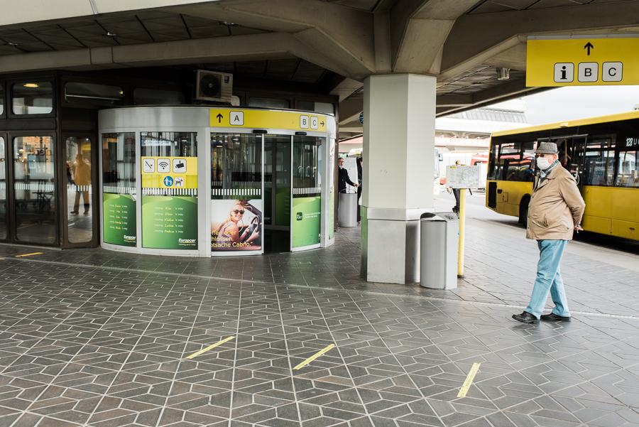 Eingangsbereich zum Terminal